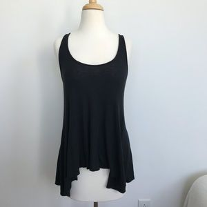 Black Mossimo Everyday Essential Loose Ribbed Top